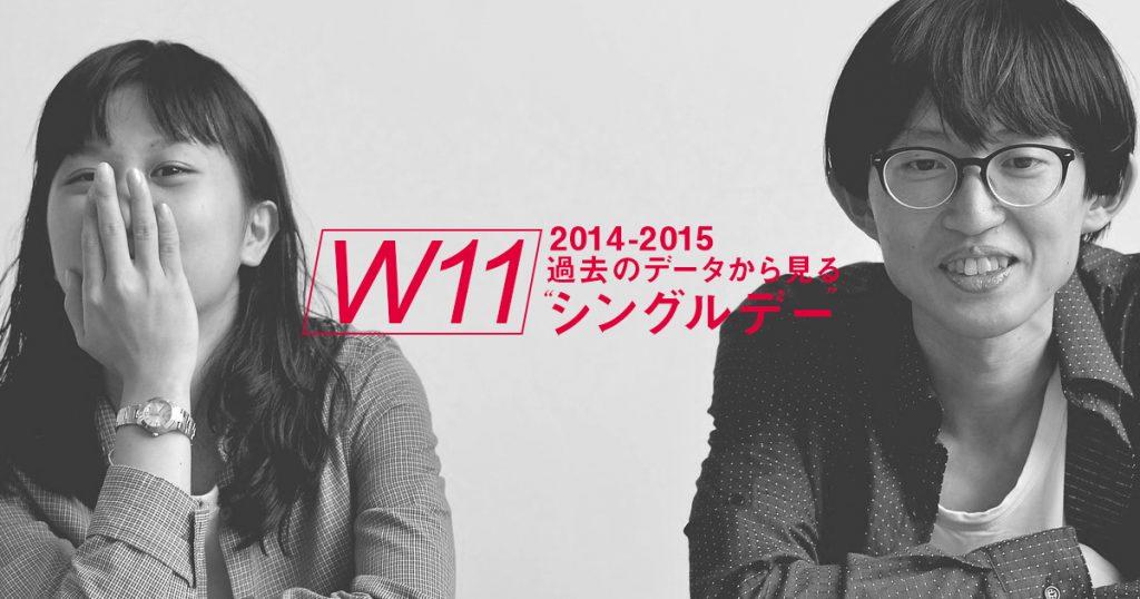 2014・2015年のシングルデー分析